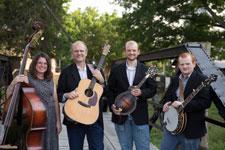 The HUnt Famliy Band on a Bridge - horizontal